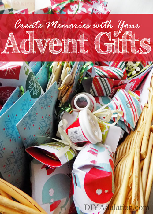 Advent is more than a countdown to Christmas in our home. Find out how to create memories with your Advent gifts this year! #ad