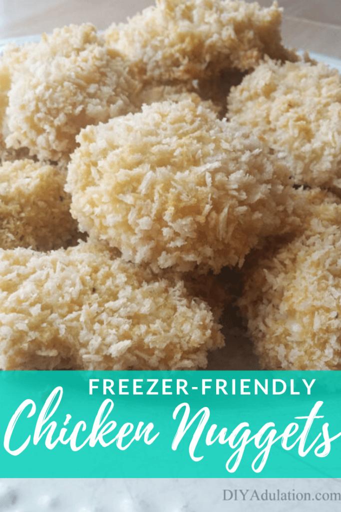 Freezer-Friendly Chicken Nuggets