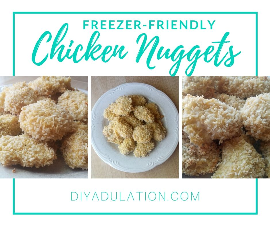 These freezer-friendly chicken nuggets are extra crispy and way healthier than what you'll get in a drive-thru.