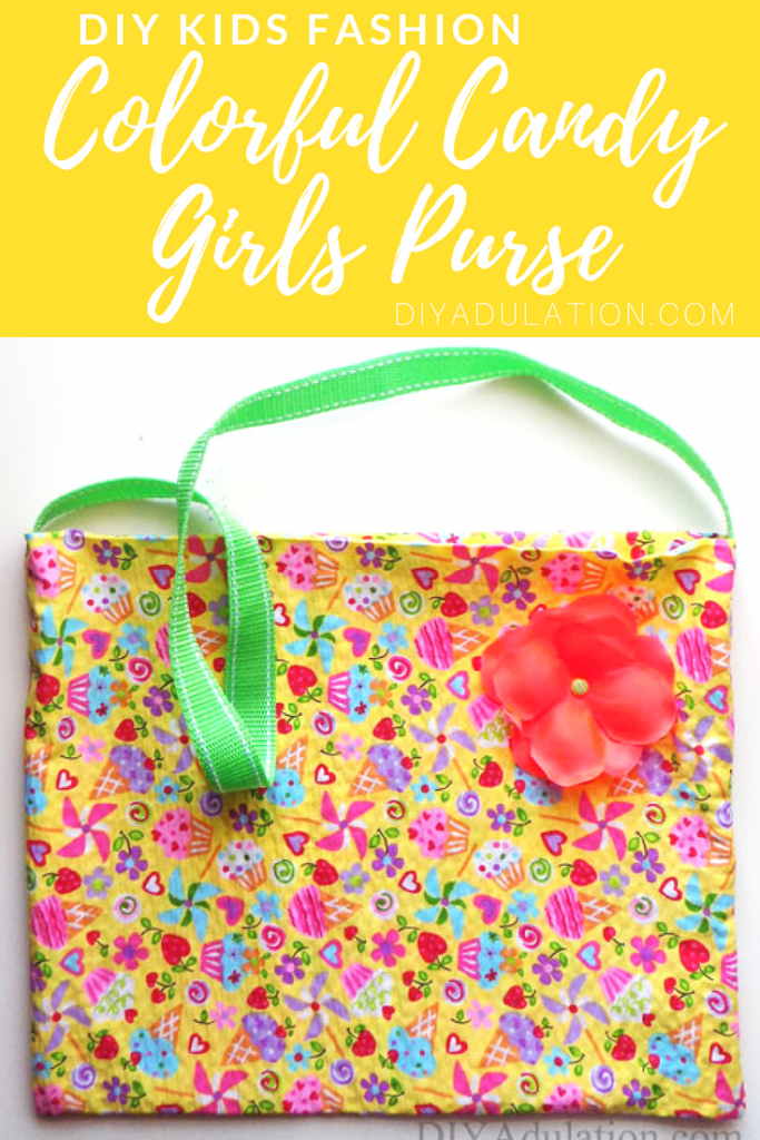Fun and Colorful Girl's Purse