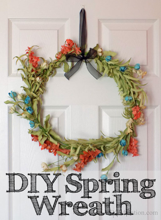 Easy and Gorgeous DIY Spring Wreath