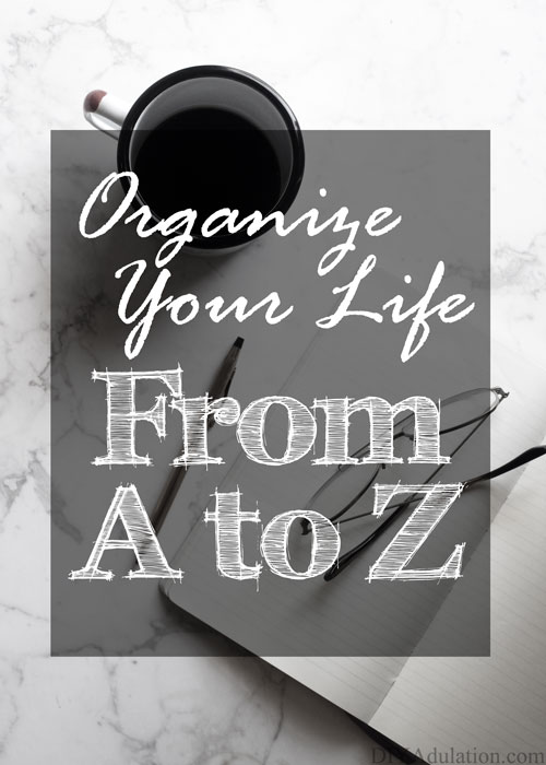 If you're tired of wasting your time looking for items and forgetting your schedule, you need this now. Easily organize your entire life from A to Z from your home to your finances.