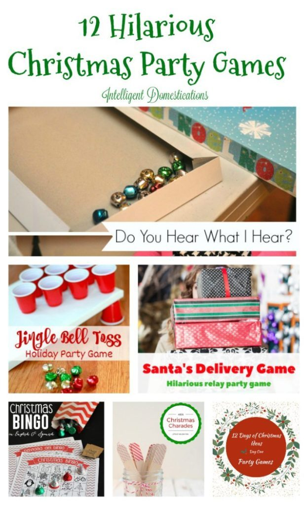 12 Hilarious Christmas Party Game Ideas : 12 Days of Christmas Series