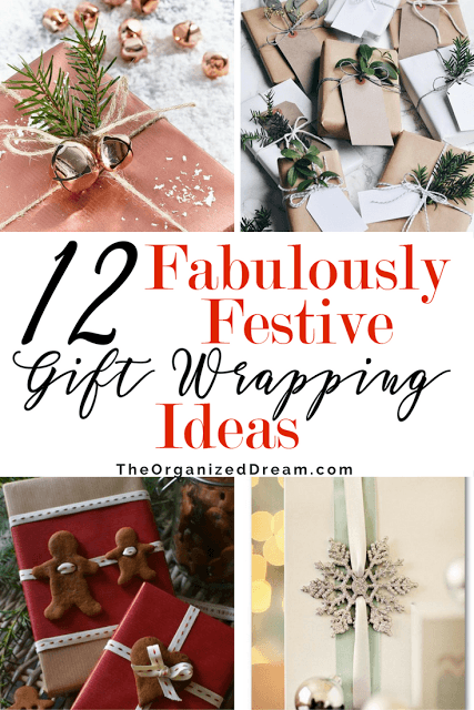 12 Fabulously Festive Gift Wrapping Ideas