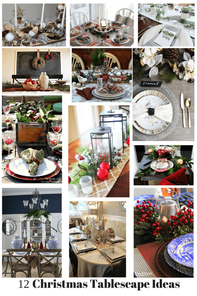 12 Christmas Tablescape Ideas For Every Style