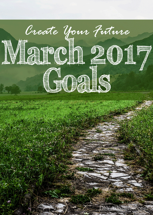 Creating Your Future: March 2017 Goals