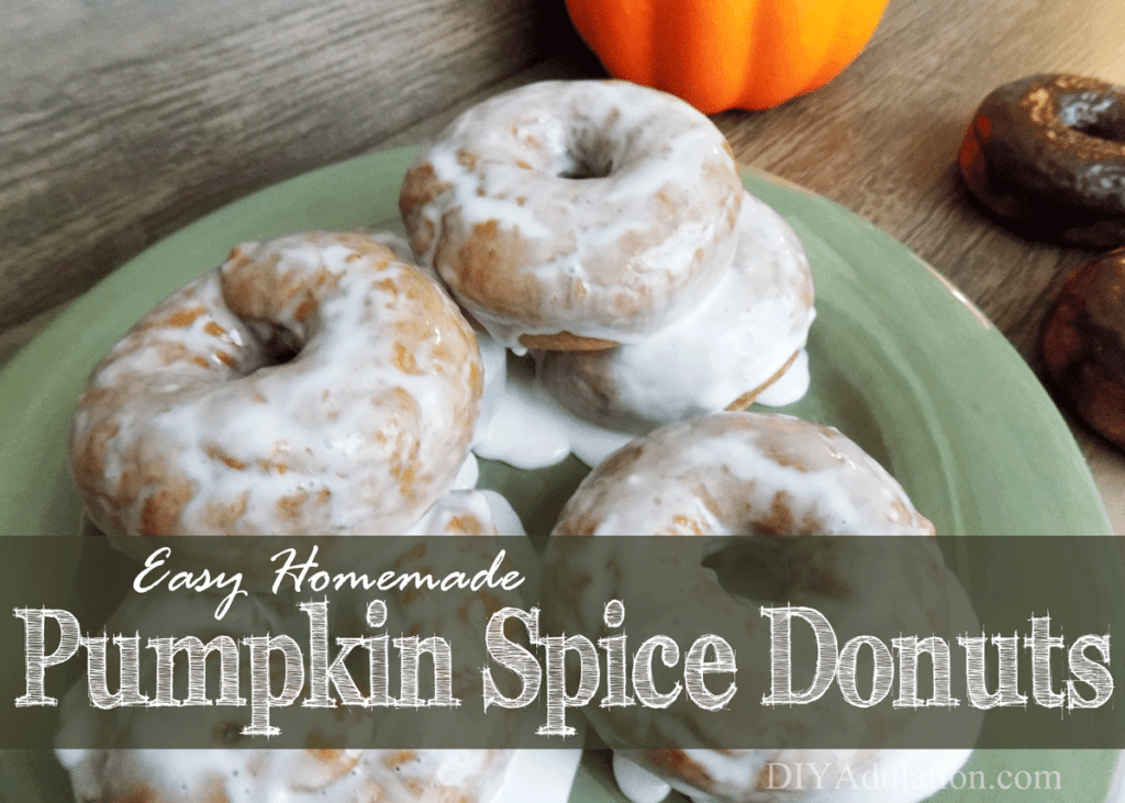 Quick breakfasts don't have to be limited to cereal and Pop Tarts. These easy homemade pumpkin spice donuts are a delicious grab and go breakfast!
