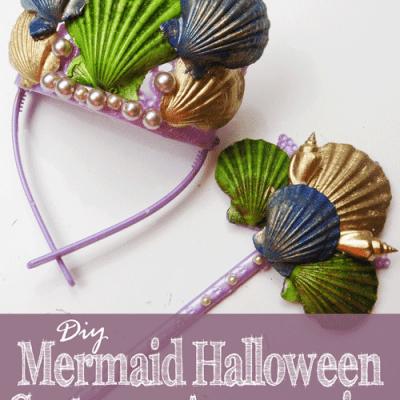 DIY Mermaid Halloween Costume Accessories