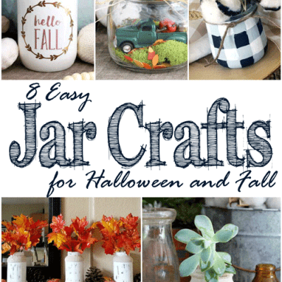 8 Easy Jar Crafts for Halloween and Fall +MM 173