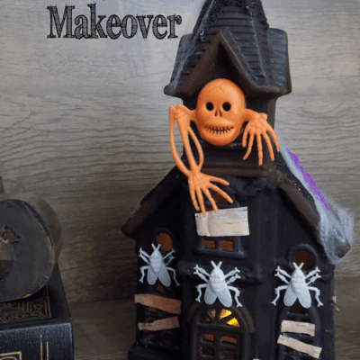 DIY Haunted House Makeover : Thrift Store Décor