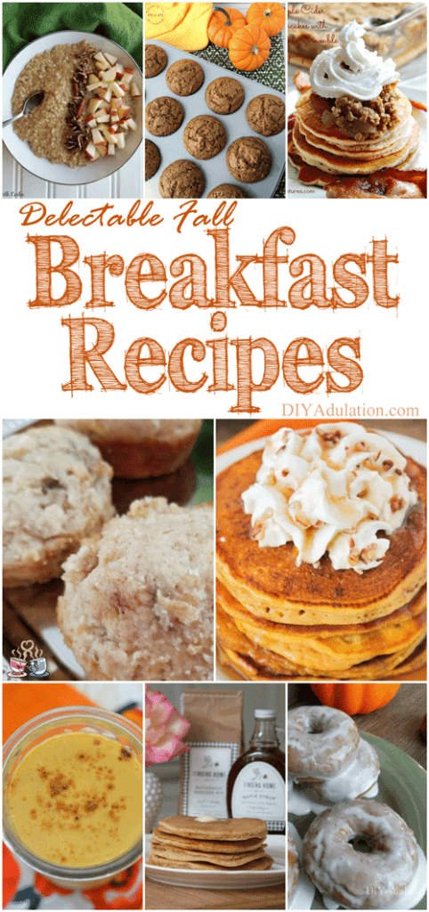 Make breakfast fun again. Each of these delectable fall breakfast recipes is perfect for gathering your family around the table for a long brunch.