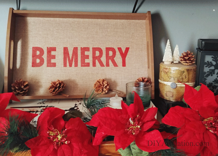 Don't let your budget stop your Christmas decor dreams in their tracks. Create your holiday wonderland with these frugal tips for gorgeous Christmas décor. #ad