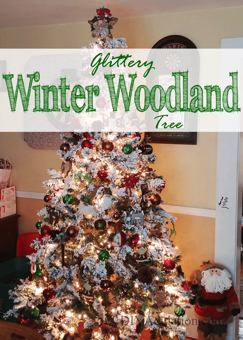 Glittery Winter Woodland Tree + Why I Love Christmas