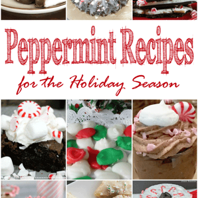 Peppermint Recipes for the Holiday Season + MM 182