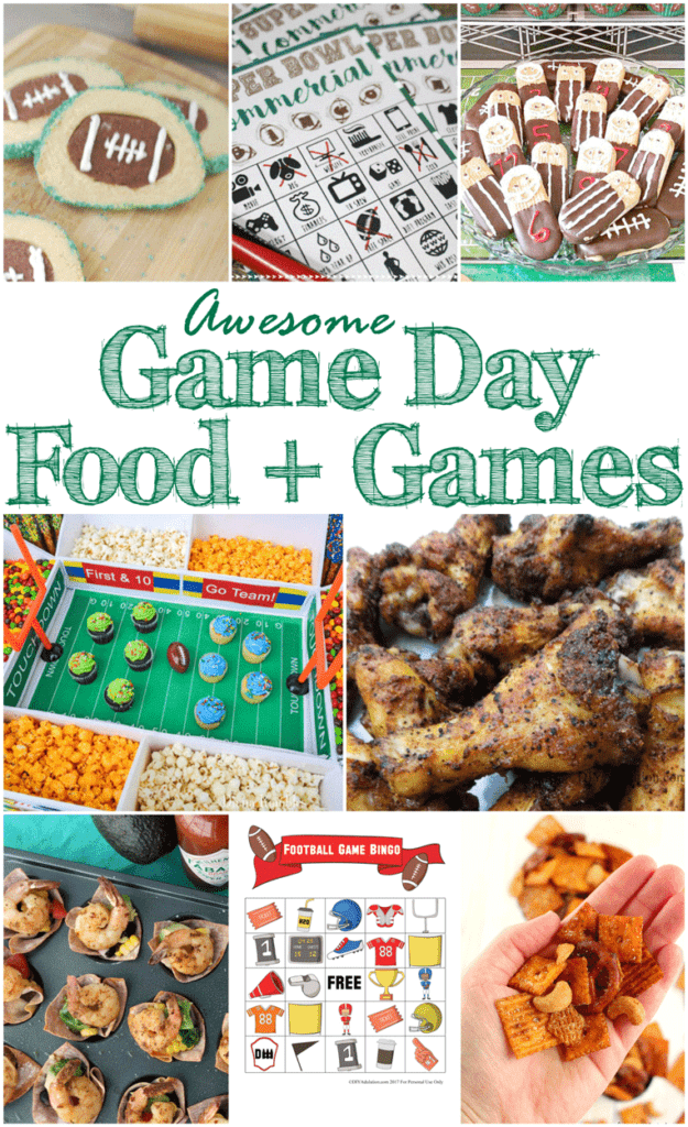 Game Day Food and Games + MM 187