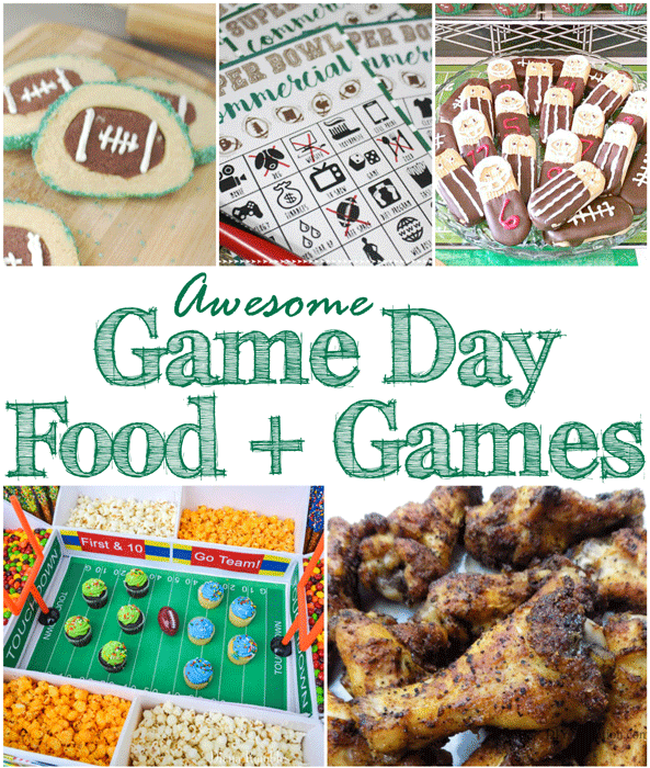 Whether you keep your celebration small or go all out for a big party, these game day food and games ideas will make it easier. Spend less time getting preparing and more time enjoying the game.
