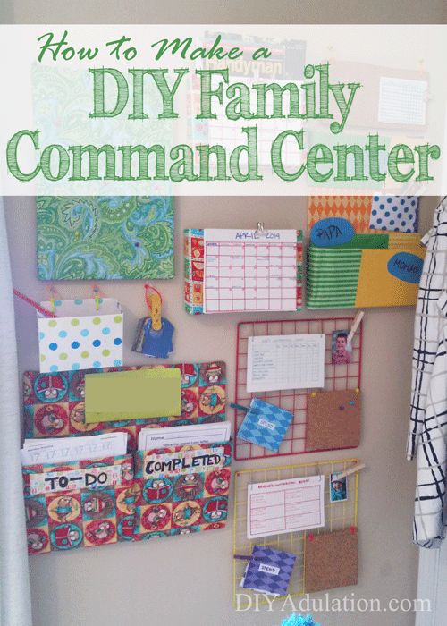How to Make a DIY Family Command Center