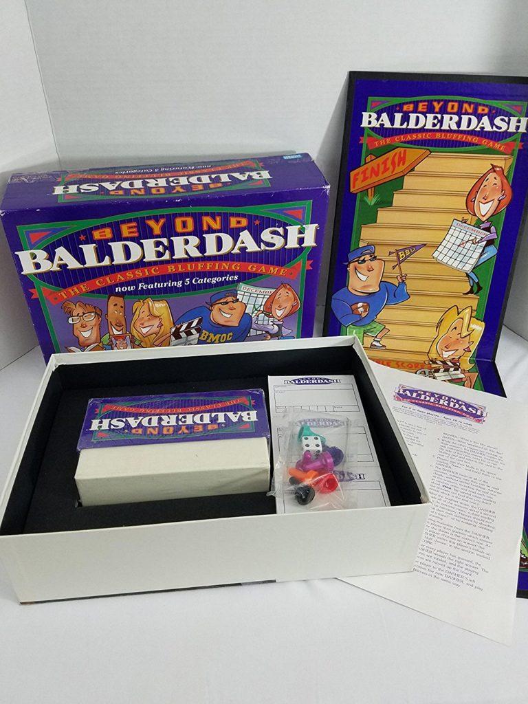 Open Components of Balderdash