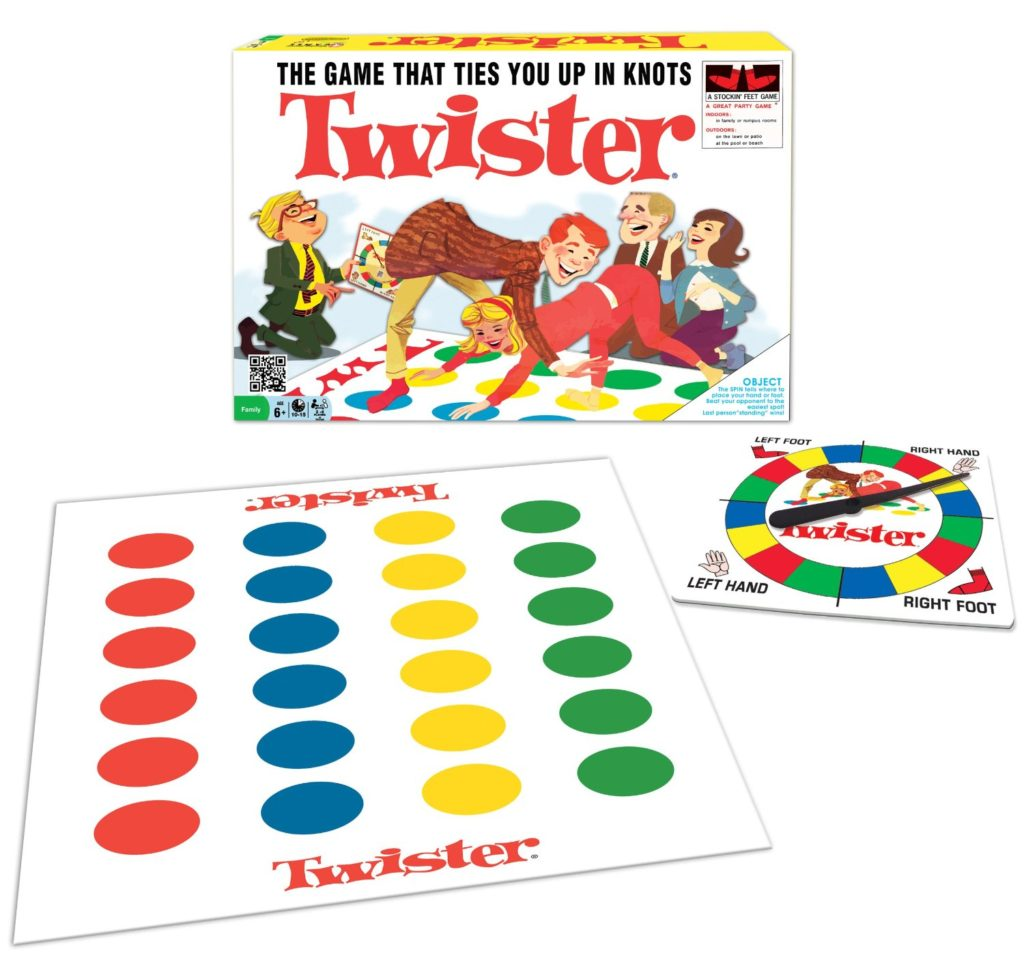 Classic Twister Board Game