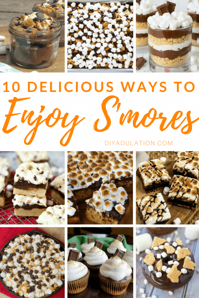 10 Delicious Ways to Enjoy S'mores | Merry Monday 214