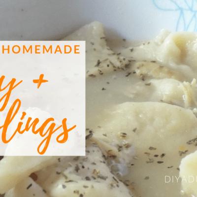 Comforting Homemade Turkey and Dumplings