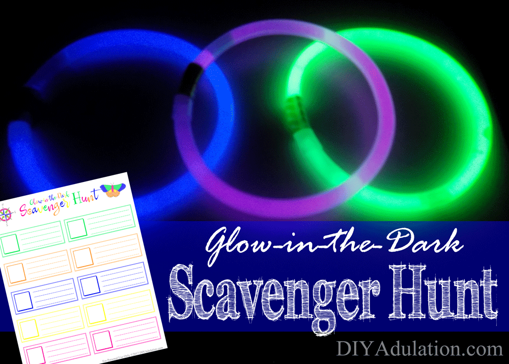 Glow Bracelets with Printable On Top