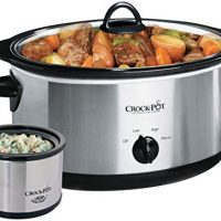 Crockpot 8 quart Manual Slow Cooker