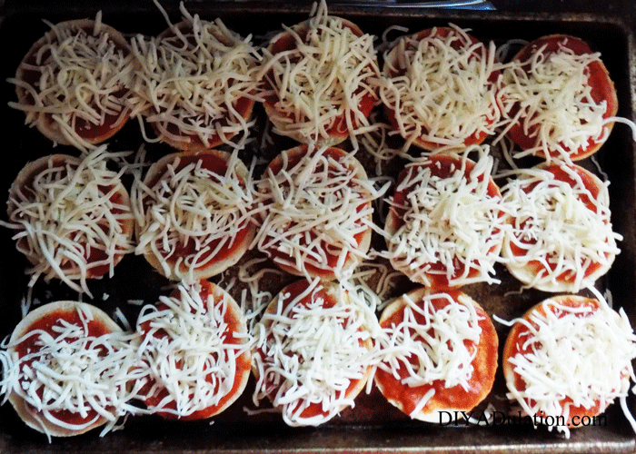 Cheese Covered Pizza Bagels