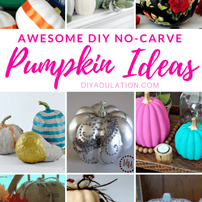Awesome DIY No-Carve Pumpkin Ideas