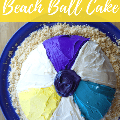 How to Make a Half Sphere Beach Ball Cake