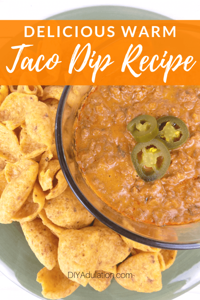 Delicious Warm Taco Dip Recipe without Cream Cheese