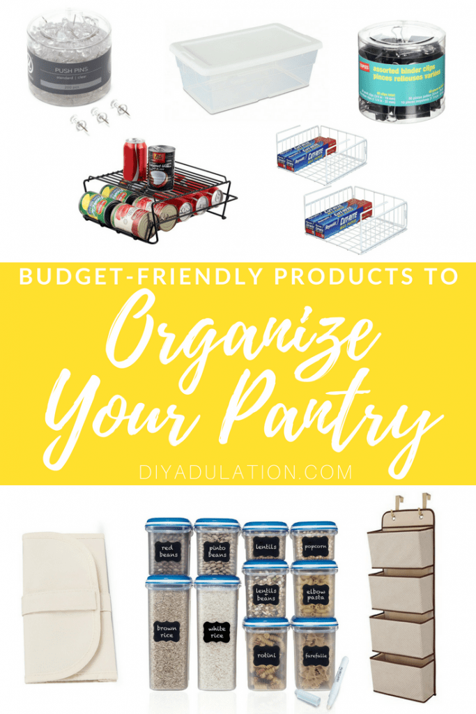 Budget-Friendly Products to Organize Your Pantry