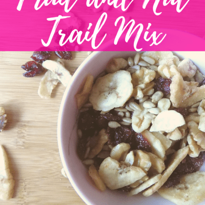 Easy Homemade Fruit and Nut Trail Mix Recipe