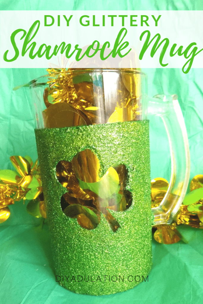 DIY Custom Beer Mugs for St. Patrick's Day