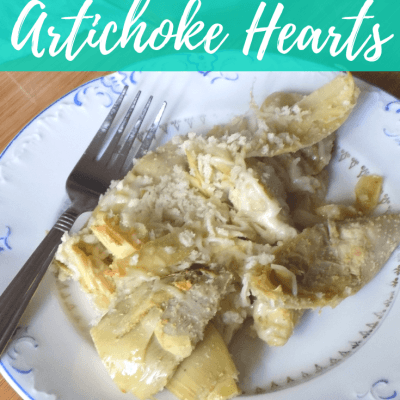 Baked Garlic Parmesan Artichoke Hearts Recipe