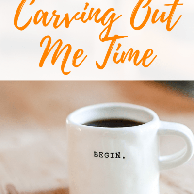 The Hard Truth About Carving Out Me Time