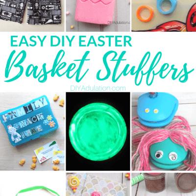 Easy DIY Easter Basket Stuffers for Kids