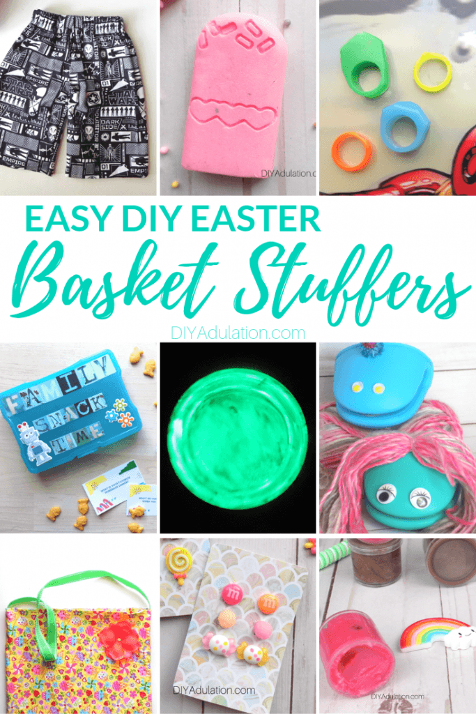 Easy DIY Easter Basket Stuffers for Kids