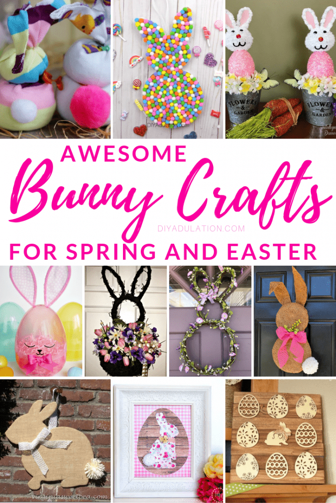 Awesome Bunny Crafts for Spring and Easter