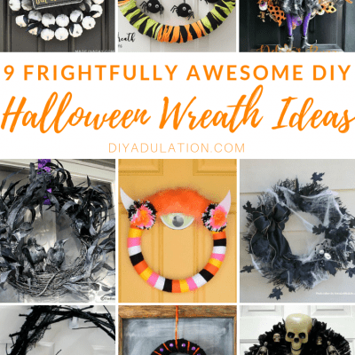 9 Frightfully Awesome DIY Halloween Wreath Ideas