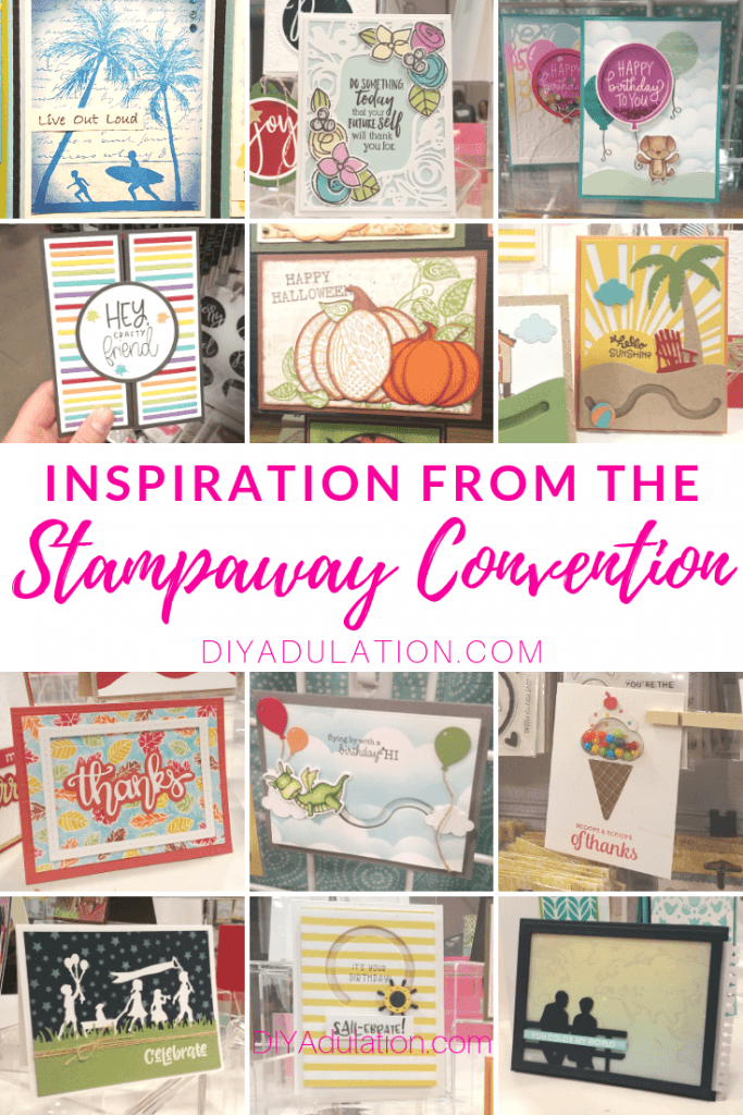 Inspiration from the Stampaway Convention 2019