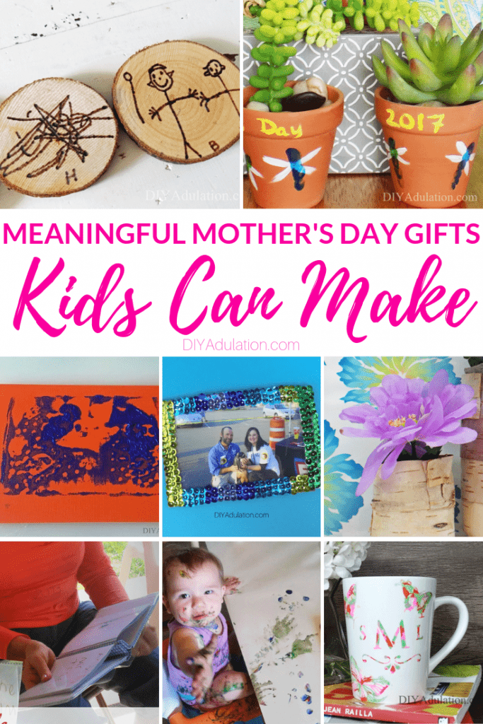 Meaningful Mother's Day Gifts Kids Can Make