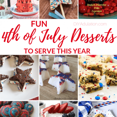 Fun 4th of July Desserts to Serve this Year