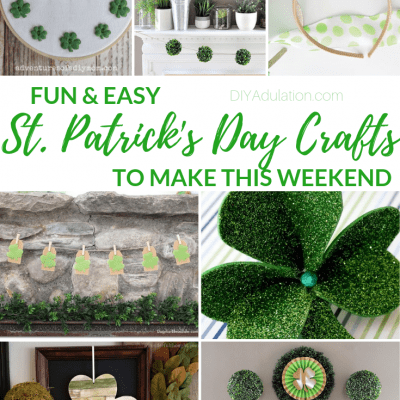St. Patrick's Day Crafts to Make this Weekend