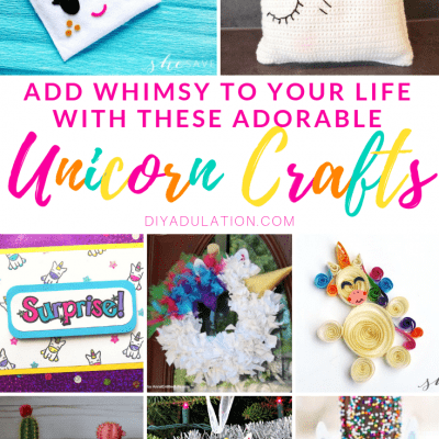 Add Whimsy to Your Life with These Adorable Unicorn Crafts