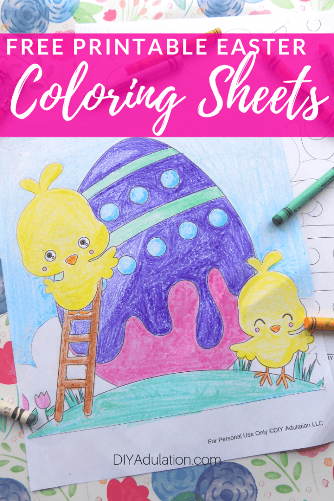Free Printable Easter Coloring Sheets