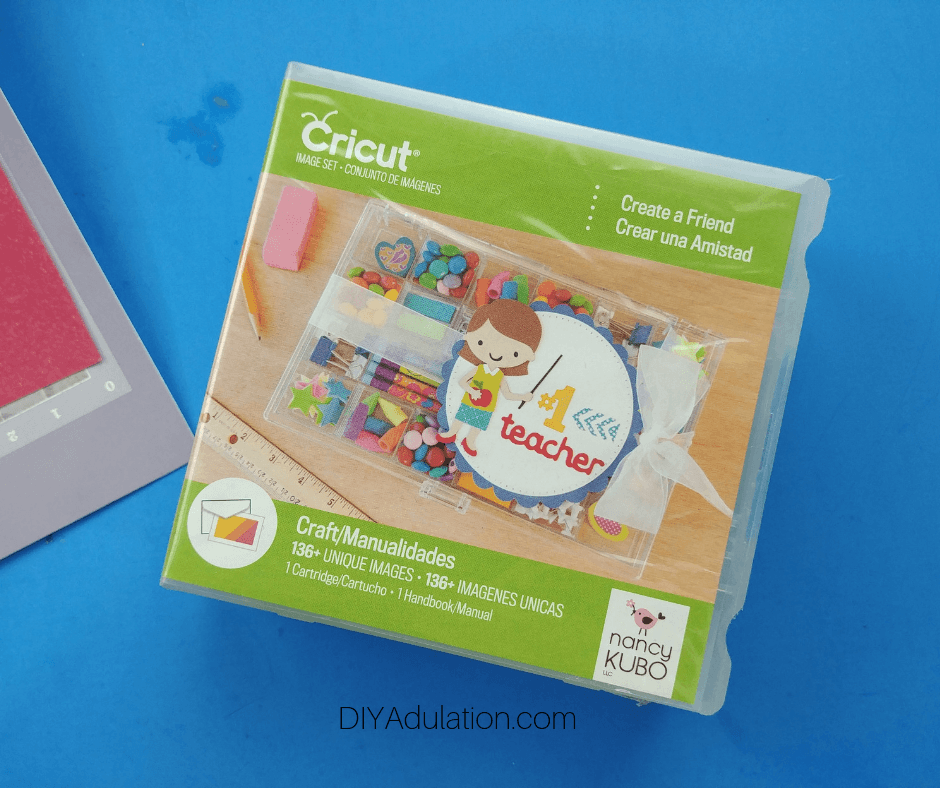 Create a Friend Cricut Cartridge Box