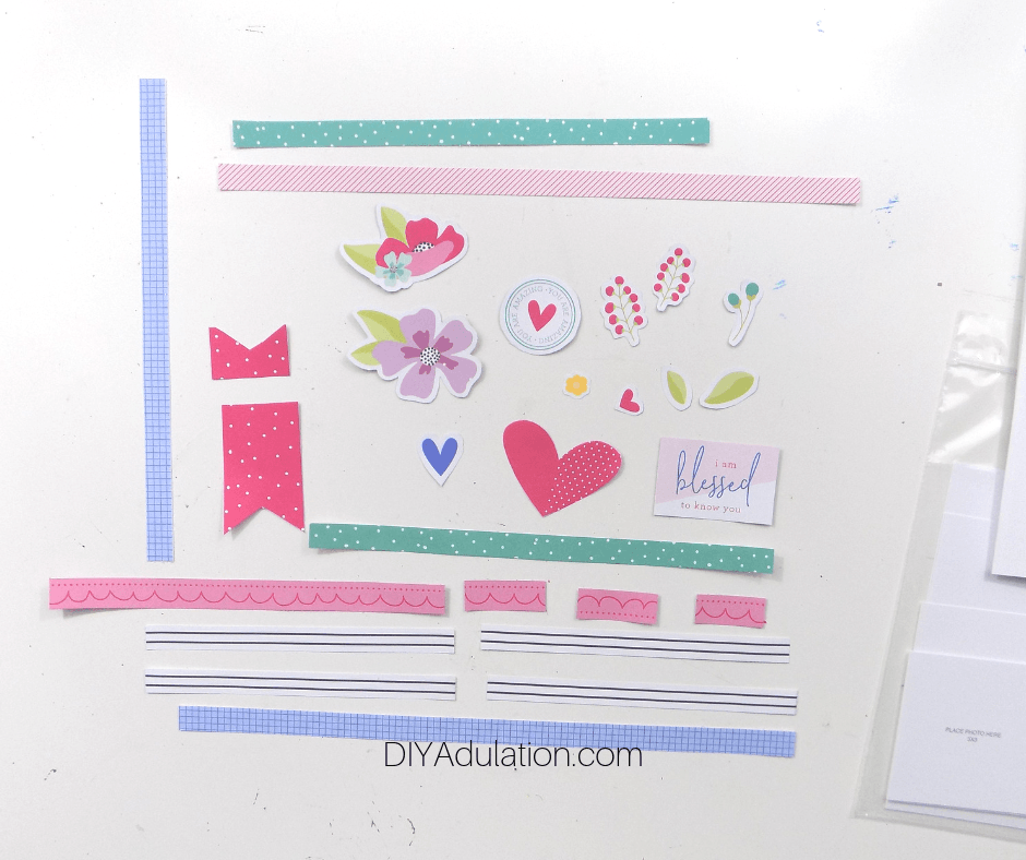 Cut Out Scrapbook Elements