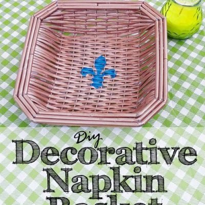 DIY Decorative Napkin Basket