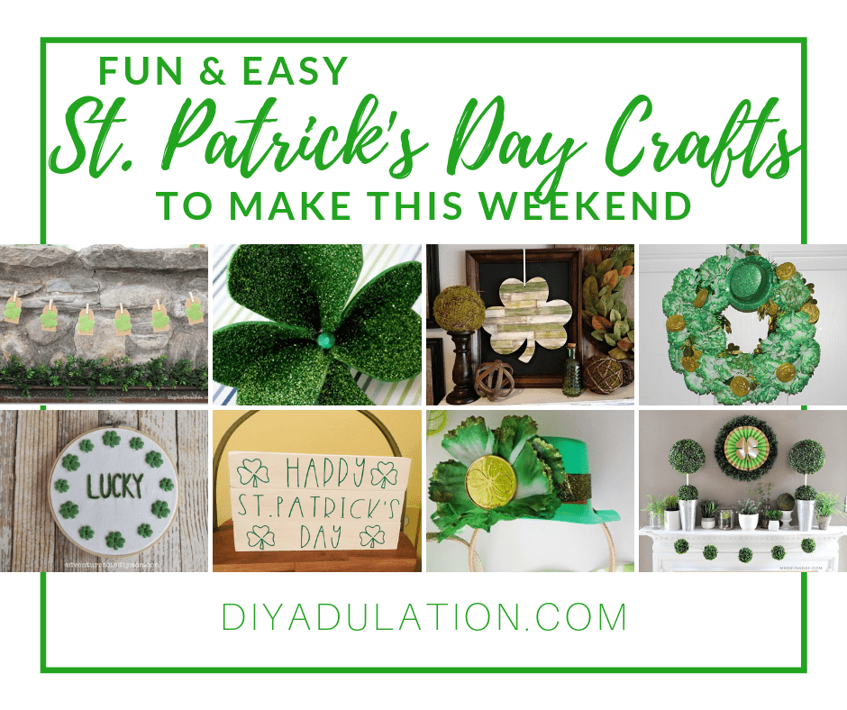 St Patrick S Day Crafts To Make This Weekend Diy Adulation